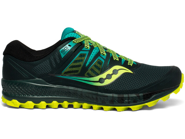 88e347ef26 saucony Peregrine ISO Shoes Men, green/teal